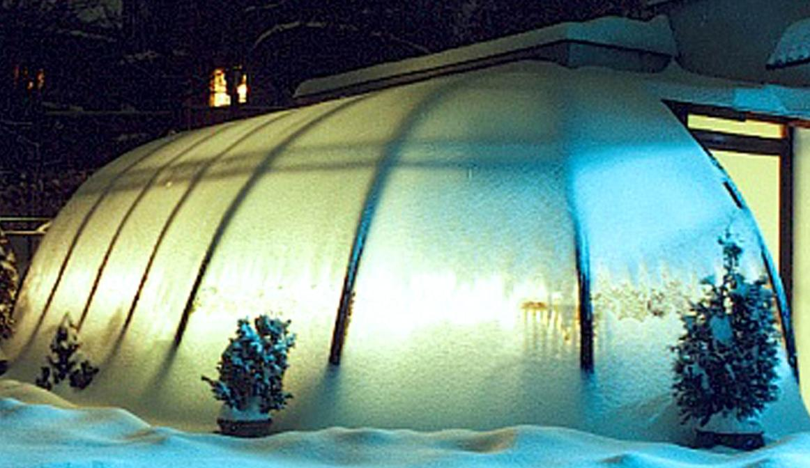 Oświetlenie ogrodu zimowego